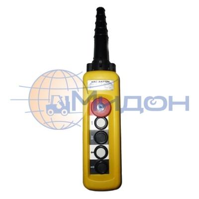 Пульт универсальный для талей и кранов XAC-A4913Y 4-кнопки, 2-скоростной, ключ, стоп купить в Краснодаре по выгодной цене с доставкой